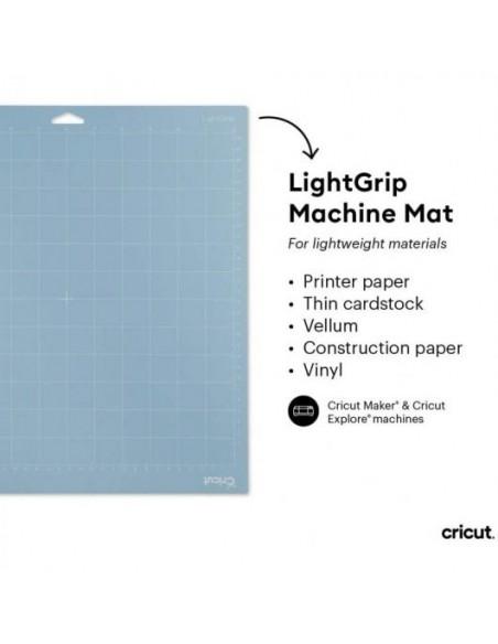 "Cricut Mat Set de 3 Tapetes de Corte Adhesivos 12""x12"""